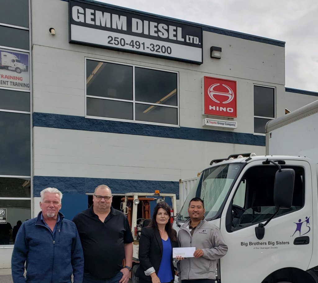 Gemm Diesel- Hino dealership in Kelowna, BC